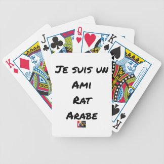 Jeu De Cartes JE SUIS UN AMI RAT ARABE - Jeux de mots