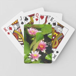 Jeu De Cartes Jeu de carte thème fleur nénuphar