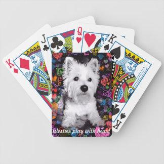 Jeu De Cartes Jeu de Westies avec des cartes de jeu de coeur