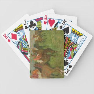 Jeu De Cartes Jockeys d'Edgar Degas  , 1886-90