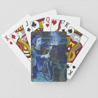 """Jeu De Cartes Jouer d'à de cartes """"homme au travail """""""