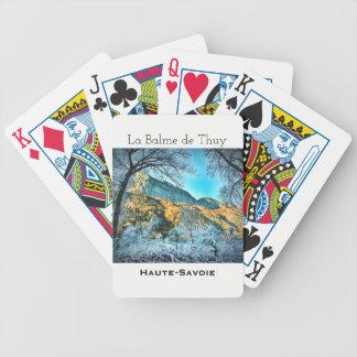 Jeu De Cartes La Balme de Thuy, cartes de jeu de Haute la Savoie