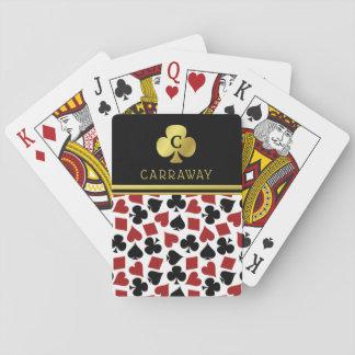 Jeu De Cartes La carte de casino de joueur de joueur de poker