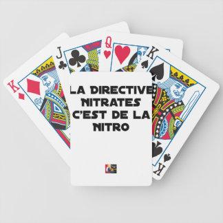 Jeu De Cartes La Directive Nitrates, c'est de la Nitro - Jeux de