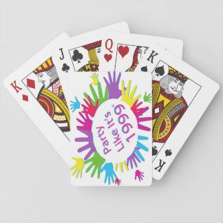 Jeu De Cartes La partie comme elle est 1999® - cartes de jeu -