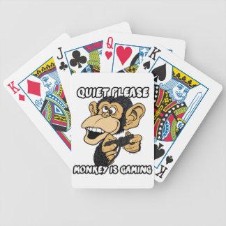 Jeu De Cartes La tranquillité svp, singe est jeu