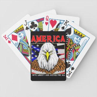 Jeu De Cartes L'Amérique