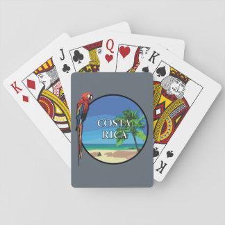 Jeu De Cartes Le Costa Rica - cartes de jeu, visages standard
