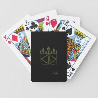 Jeu De Cartes Le logo royal d'or a dénommé des cartes