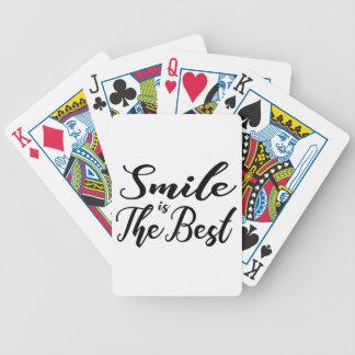 Jeu De Cartes Le sourire est le meilleur
