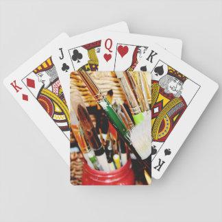 Jeu De Cartes Les cartes de jeu d'artiste