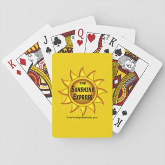 Jeu De Cartes Les cartes de jeu de souvenir d'express de soleil