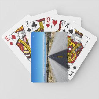 Jeu De Cartes Les cartes de jeu les plus isolées de route