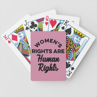 Jeu De Cartes Les droits de la femme sont des droits de l'homme