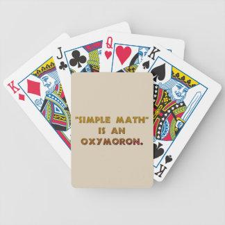 Jeu De Cartes Les maths simples sont un oxymoron