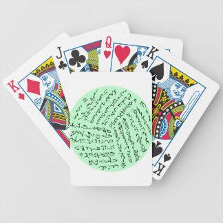 Jeu De Cartes les mots sont magiques (le vert en bon état)