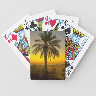 Jeu De Cartes Lever de soleil de palmier