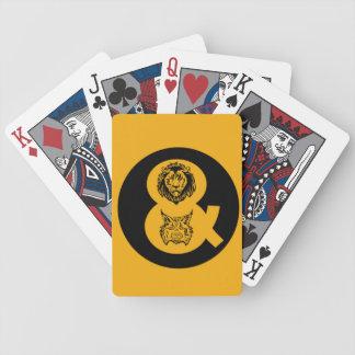 Jeu De Cartes Lion et logo de Lynx