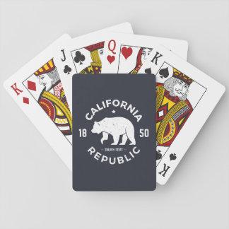 Jeu De Cartes Logo | de la Californie le Golden State