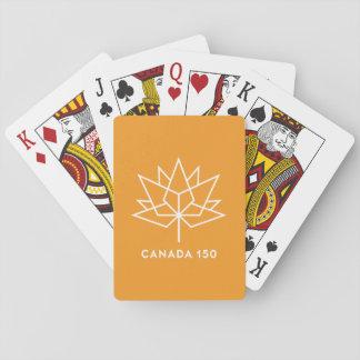 Jeu De Cartes Logo du Canada 150