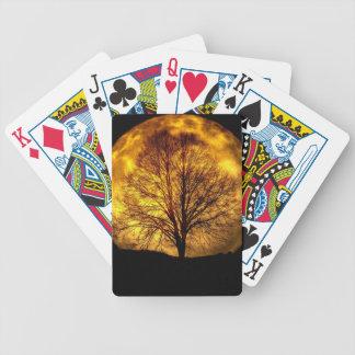 Jeu De Cartes lune-et arbre