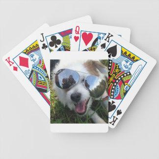 Jeu De Cartes Lunettes de soleil l'AVENIR LUMINEUX de chien pour