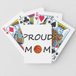 Jeu De Cartes Maman de basket-ball