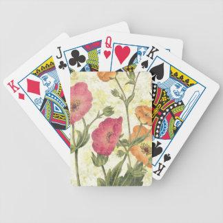 Jeu De Cartes Marguerites colorées