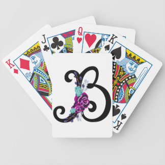 Jeu De Cartes Marquez avec des lettres B avec la conception