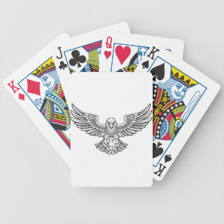 Jeu De Cartes Mascotte de roulement de sports d'Eagle