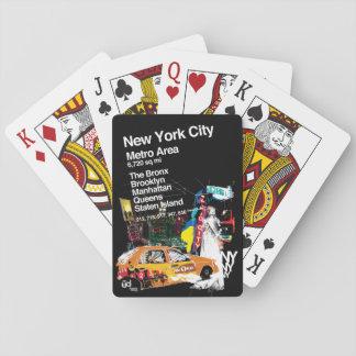 Jeu De Cartes Métro New York City