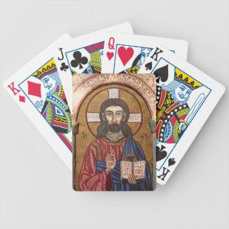 Jeu De Cartes Mosaïque antique de Jésus