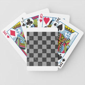 Jeu De Cartes Motif d'échecs