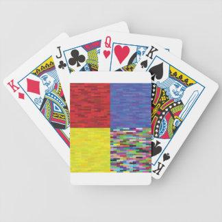 Jeu De Cartes motif multicolore
