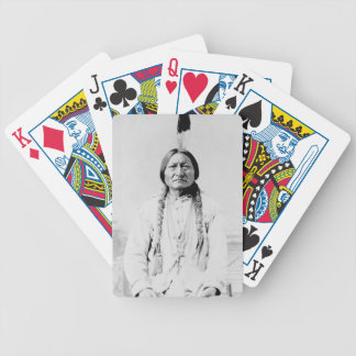 Jeu De Cartes Natif américain de Taureau de séance