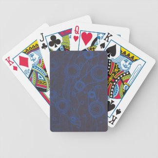 Jeu De Cartes Noir et bleu