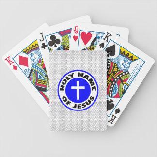 Jeu De Cartes Nom saint de Jésus