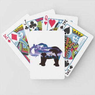 Jeu De Cartes Nuit africaine avec l'éléphant 5
