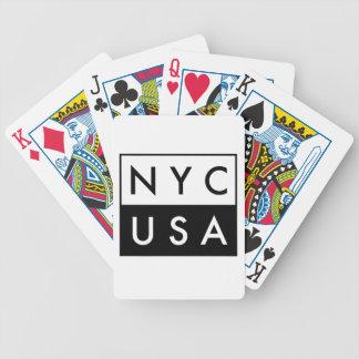 JEU DE CARTES NYC ETATS-UNIS