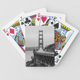 Jeu De Cartes Obscurité unique de vue de San Francisco golden