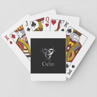 Jeu De Cartes Odin- le graphique est un symbole des klaxons