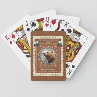 Jeu De Cartes Ours - cartes de jeu classiques d'introspection
