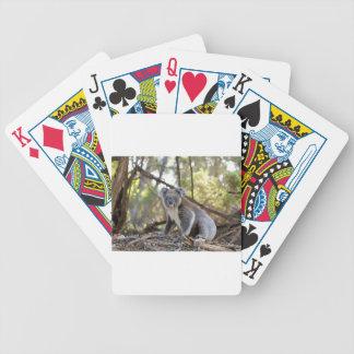 Jeu De Cartes Ours de koala gris et blanc