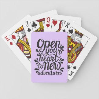 Jeu De Cartes Ouvrez votre coeur à de nouvelles aventures