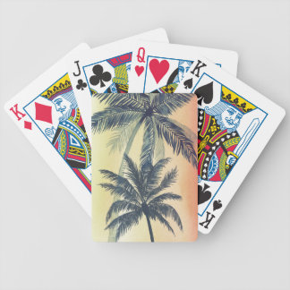 Jeu De Cartes Palmettes tropicales