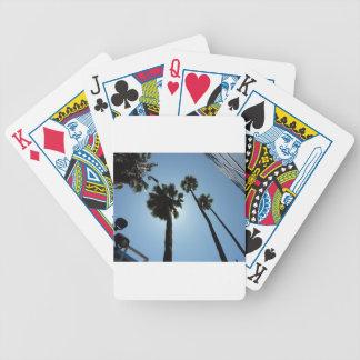 Jeu De Cartes Palmiers Los Angeles Hollywood Etats-Unis