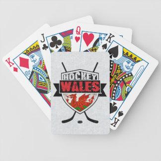Jeu De Cartes Paquet de cartes de hockey sur glace de Gallois,