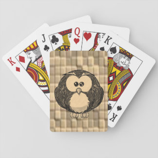Jeu De Cartes Paquet de cartes de jeu de hibou