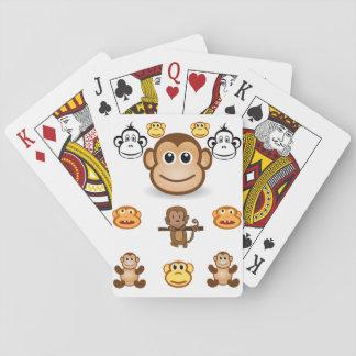 Jeu De Cartes Paquet de cartes de jeu de singe