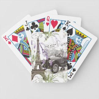 Jeu De Cartes Paris vintage